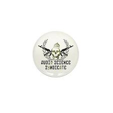 (Cammo Skull) Mini Button (10 Pack)
