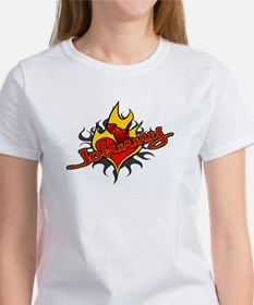 Johnny Heart Flame Tattoo Tee