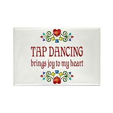 Tap Dancing Joy Rectangle Magnet (10 pack)