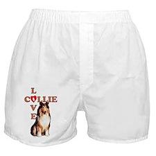 collie love 2 Boxer Shorts