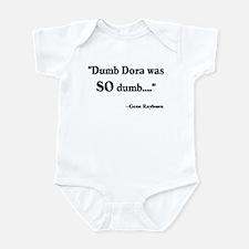 Dumb Dora Match Game Rayburn Infant Bodysuit