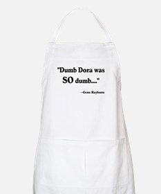 Dumb Dora Match Game Rayburn BBQ Apron