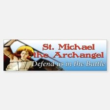 St Michael bumper sticker