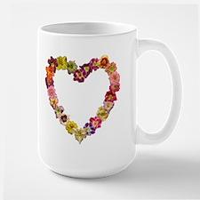 Full and Empty Heart Daylily mug