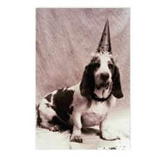 Bassett hound (Canis fami Postcards (Package of 8)