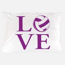 Painted love netball Pillow Case