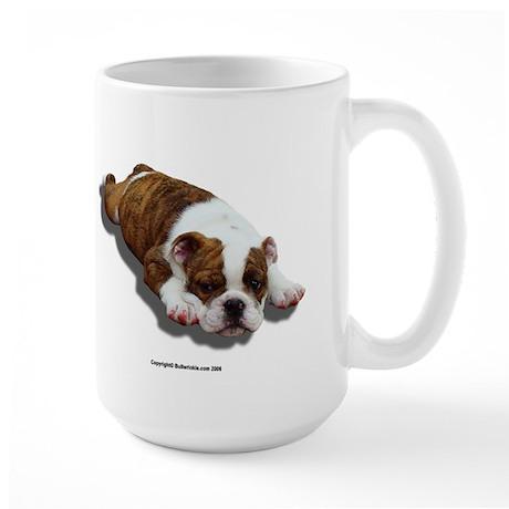Large Bulldog Puppy Mug I
