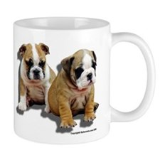 Bulldog Puppies Small Mug