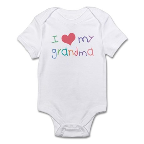 Kids I Love My Grandma Infant Bodysuit