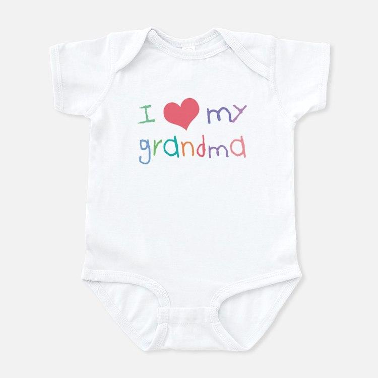 Kids I Love My Grandma Infant Bodysuit