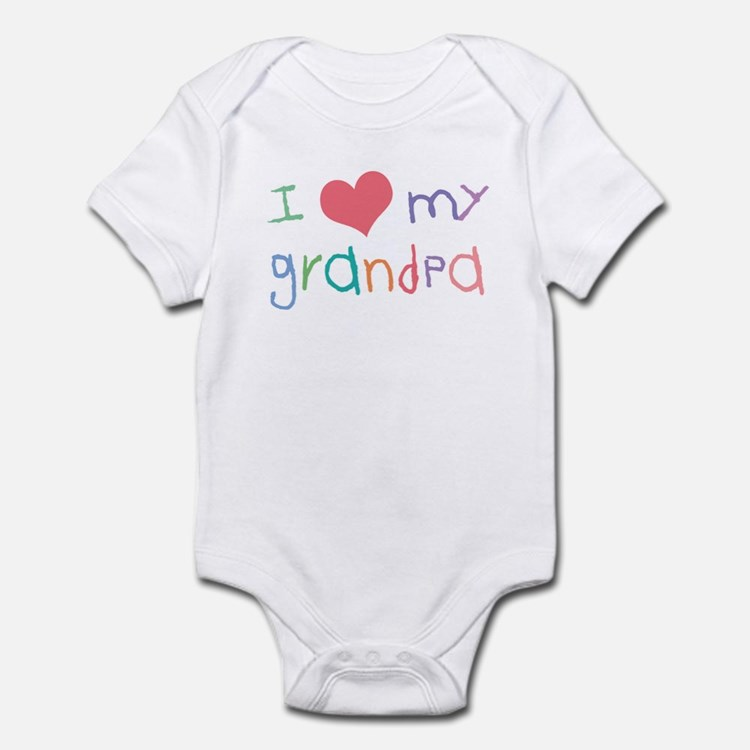 I Love My Grandpa Infant Bodysuit