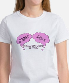 """Sugar & Spice"" Pregnancy Tee"