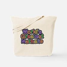 Worlds Greatest Nathalie Tote Bag