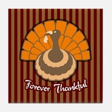 Thanksgiving Gobbler Tile Coaster