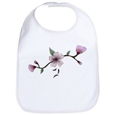 Cherry Blossoms Bib