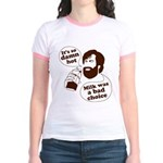 Milk Was a Bad Choice Jr. Ringer T-Shirt