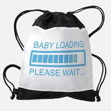 Baby Loading Please Wait Drawstring Bag