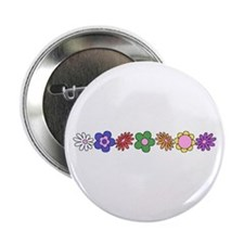 LDS YW Flowers Button