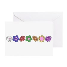 LDS YW Flowers Greeting Cards (Pk of 10)