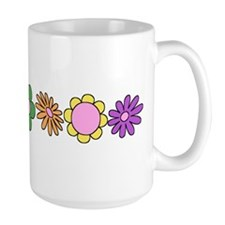LDS YW Flowers Ceramic Mugs