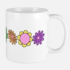 LDS YW Flowers Small Mugs