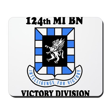 124th MI Bn Mousepad