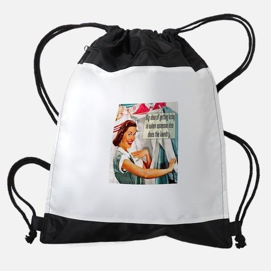 Lucky Laundry Drawstring Bag