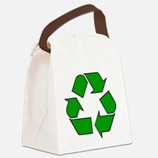 Reuse, recycle, Reduce Canvas Lunch Bag