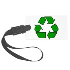 Reuse, recycle, Reduce Luggage Tag