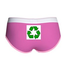Reuse, recycle, Reduce Women's Boy Brief