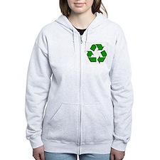Reuse, recycle, Reduce Zip Hoodie