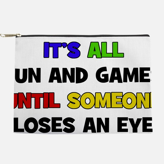 Fun & Games - Loses An Eye Makeup Pouch