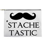 Stache tastic Makeup Bags