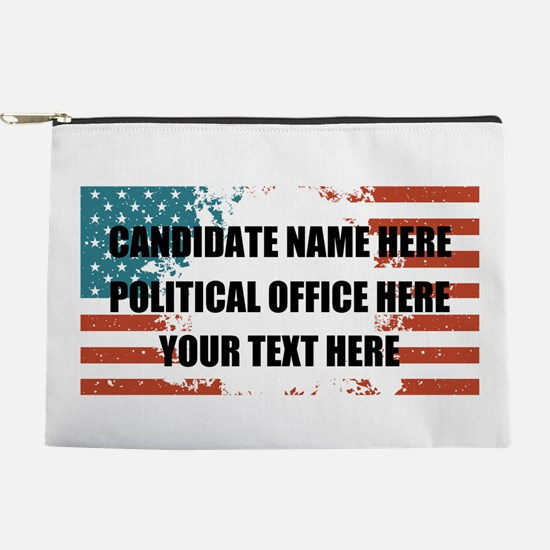 Personalized USA President Makeup Pouch