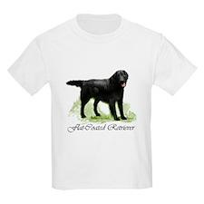 Flat Coated Retriever Kids T-Shirt