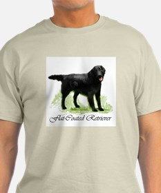 Flat Coated Retriever Ash Grey T-Shirt