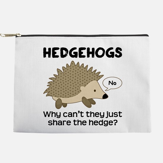 Hedgehog Pun Makeup Pouch