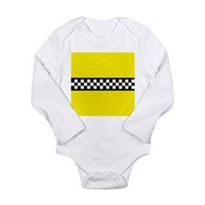 Iconic NYC Yellow Cab Long Sleeve Infant Bodysuit