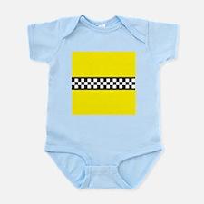 Iconic NYC Yellow Cab Infant Bodysuit