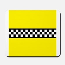 Iconic NYC Yellow Cab Mousepad