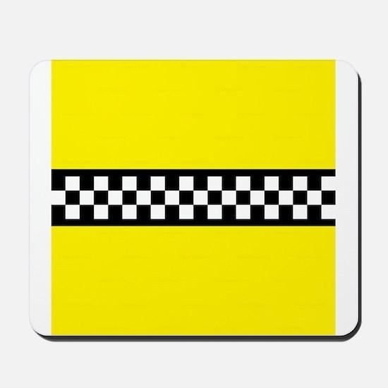 Iconic NYC Yellow Cab Mousepad