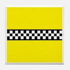 Iconic NYC Yellow Cab Tile Coaster