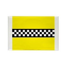 Iconic NYC Yellow Cab Rectangle Magnet