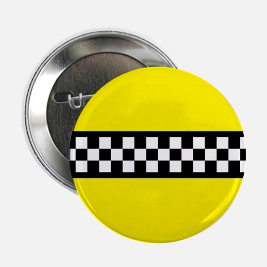 """Iconic NYC Yellow Cab 2.25"""" Button"""
