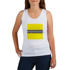 Iconic NYC Yellow Cab Women's Tank Top