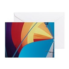 Sail mast Greeting Cards (Pk of 10)