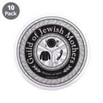 "Guild of Jewish Mothers 3.5"" Button (10 pack)"