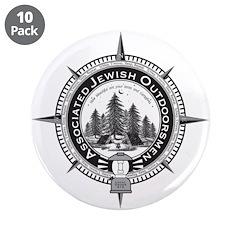 "Associated Jewish Outdoorsmen 3.5"" Button-10"