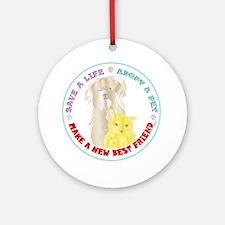 Pet Friend Ornament (Round)