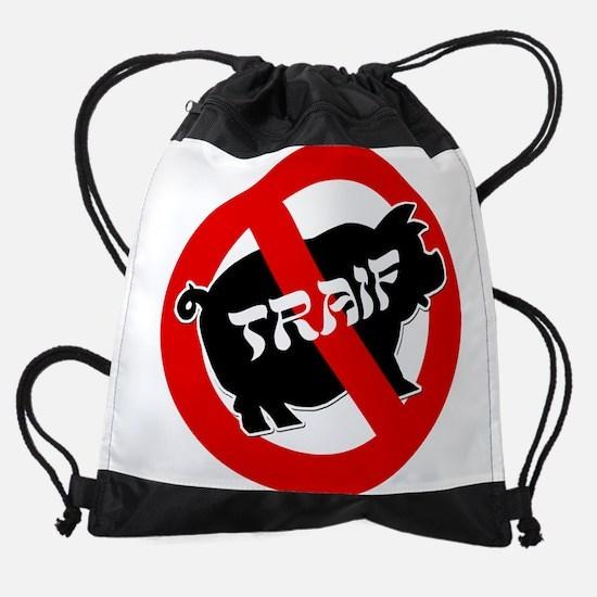 FIN-traif-pig.png Drawstring Bag
